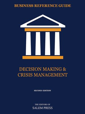 cover image of Decision Making & Crisis Management