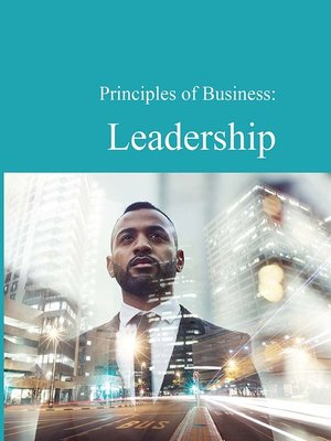 cover image of Principles of Business: Leadership