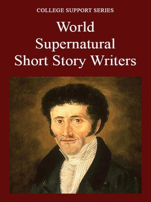 cover image of World Supernatural Short Story Writers
