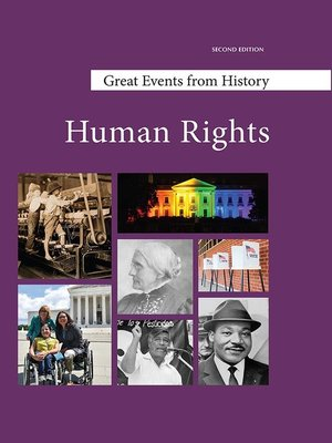 cover image of Great Events from History: Human Rights