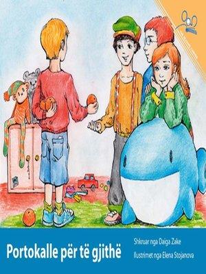 cover image of Portokalle per te gjithe