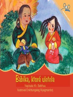 cover image of Bábika, ktorá uletela