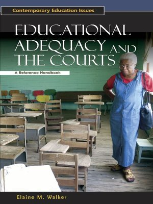 cover image of Educational Adequacy and the Courts