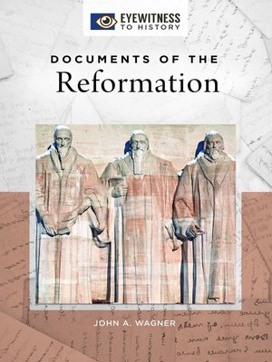 cover image of Documents of the Reformation