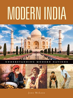 cover image of Modern India