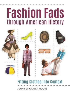 cover image of Fashion Fads Through American History
