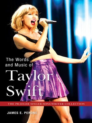 cover image of The Words and Music of Taylor Swift