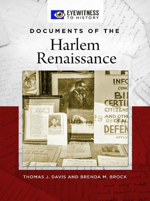 cover image of Documents of the Harlem Renaissance