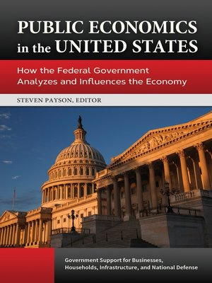 cover image of Public Economics in the United States