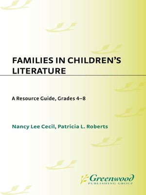 cover image of Families in Children's Literature