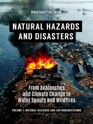 cover image of Natural Hazards and Disasters
