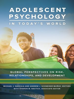 cover image of Adolescent Psychology in Today's World