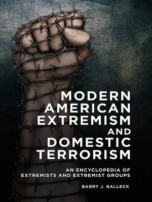 cover image of Modern American Extremism and Domestic Terrorism
