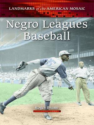 cover image of Negro Leagues Baseball