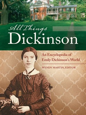 cover image of All Things Dickinson