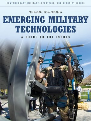 cover image of Emerging Military Technologies