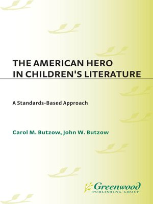 cover image of The American Hero in Children's Literature