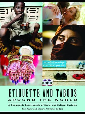 cover image of Etiquette and Taboos around the World