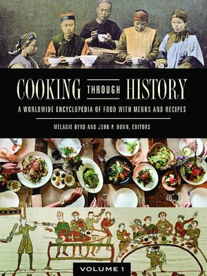 cover image of Cooking through History