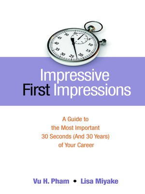cover image of Impressive First Impressions