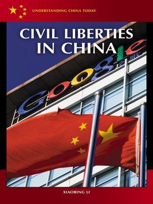 cover image of Civil Liberties in China