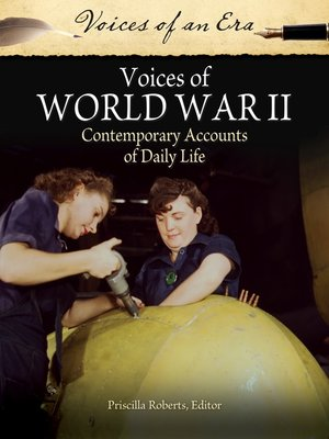 cover image of Voices of World War II
