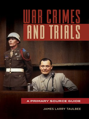 cover image of War Crimes and Trials
