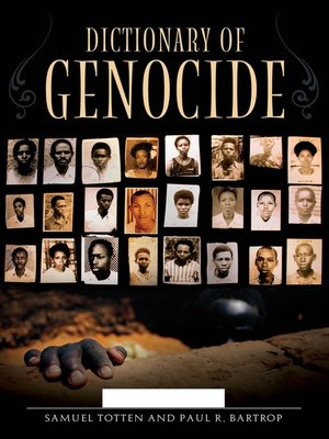 cover image of Dictionary of Genocide [2 volumes]