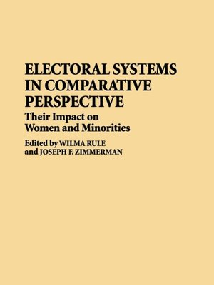 cover image of Electoral Systems in Comparative Perspective
