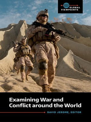 cover image of Examining War and Conflict around the World