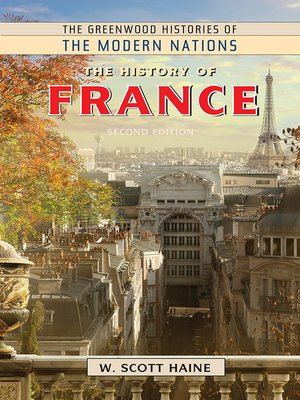 cover image of The History of France