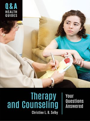 cover image of Therapy and Counseling