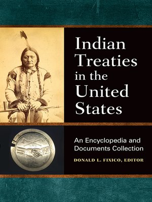 cover image of Indian Treaties in the United States