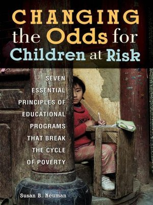 cover image of Changing the Odds for Children at Risk