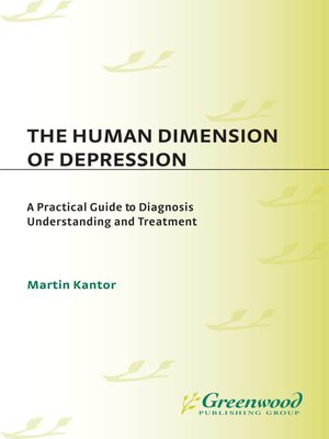 cover image of The Human Dimension of Depression
