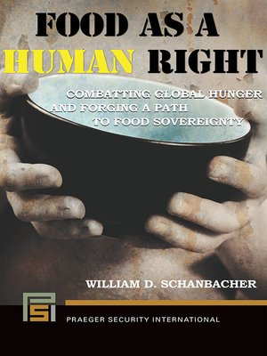 cover image of Food as a Human Right