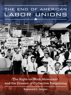cover image of The End of American Labor Unions