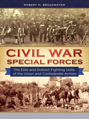 cover image of Civil War Special Forces