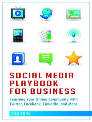 cover image of Social Media Playbook for Business