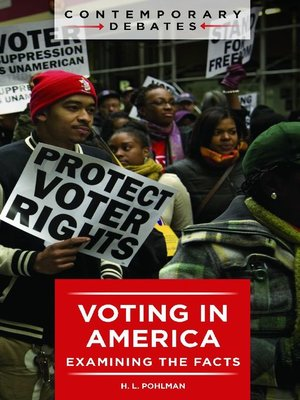 cover image of Voting in America
