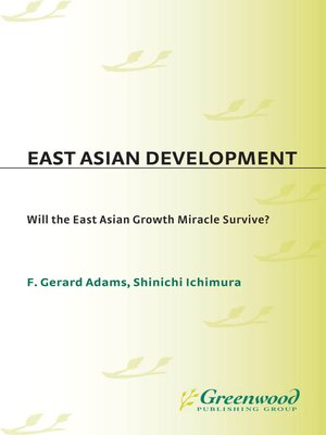 cover image of East Asian Development