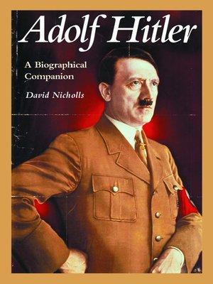Hitler Autobiography Ebook