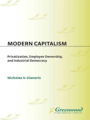 cover image of Modern Capitalism