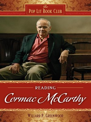 cover image of Reading Cormac McCarthy