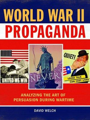 cover image of World War II Propaganda