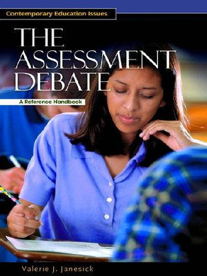 cover image of The Assessment Debate