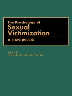 cover image of The Psychology of Sexual Victimization
