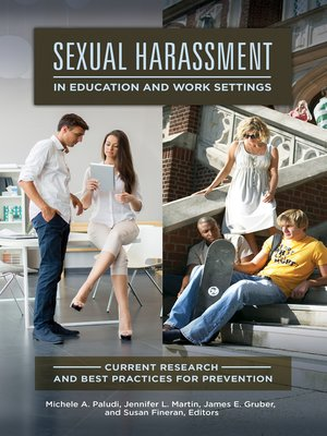 cover image of Sexual Harassment in Education and Work Settings