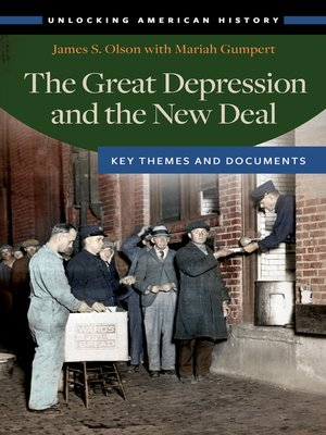 cover image of The Great Depression and the New Deal