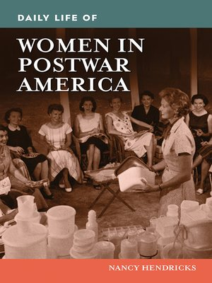 cover image of Daily Life of Women in Postwar America